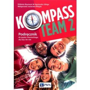 Kompass Team 2. Język niemiecki. Klasa 7-8. Podręcznik