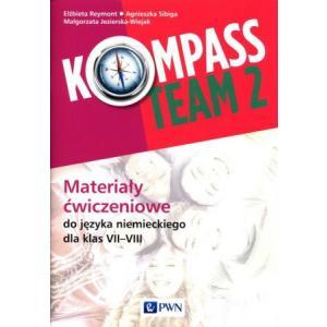 Kompass Team 2. Język niemiecki. Klasa 7-8. Materiały ćwiczeniowe