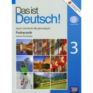Das ist Deutsch 3 Podręcznik +CD2