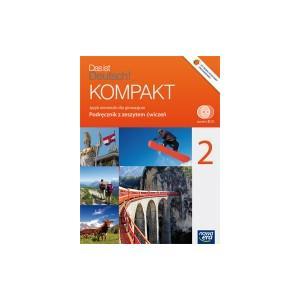 Das ist Deutsch KOMPAKT 2 Podręcznik z ćwiczeniami +CD