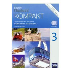 Das ist Deutsch KOMPAKT 3 Podręcznik z ćwiczeniami +CD