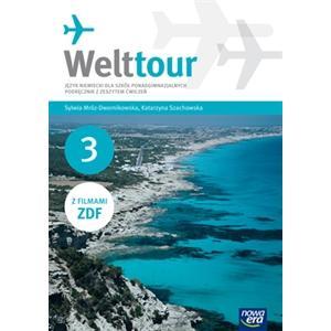 Welttour 3 Podręcznik z ćwiczeniami +CD+DVD