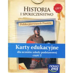 Historia i Społeczeństwo. Karty Edukacyjne Część 2 Polska Pierwszych Piastów. Klasa 4 SP