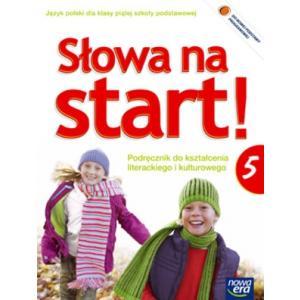 ZxxxSłowa na start Język polski kl. 5 podręcznik kształcenie literackie wyd. 2013