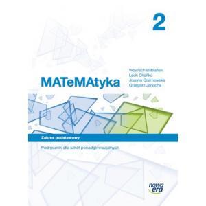 Matematyka 2. Podręcznik + CD. Szkoła Ponadgimnazjalna. Zakres Podstawowy