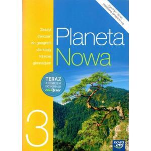 Planeta Nowa 3. Geografia. Ćwiczenia z Dostępem do EduQrsora. Klasa 3. Gimnazjum