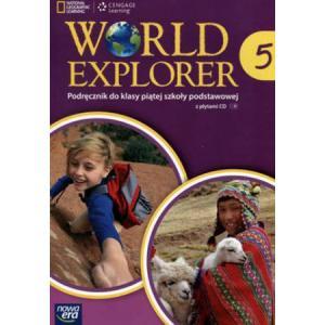 World Explorer 5. Podręcznik Wieloletni + CD. Klasa 5. Szkoła Podstawowa
