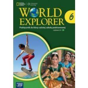 World Explorer 6. Podręcznik Wieloletni + CD. Klasa 6. Szkoła Podstawowa