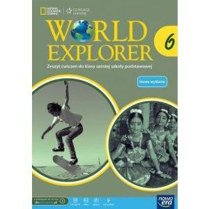 World Explorer 6. Ćwiczenia (Do Wersji Wieloletniej). Klasa 6. Szkoła Podstawowa