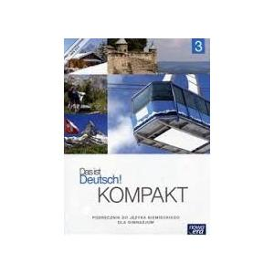 Das Ist Deutsch Kompakt Cz. 3 Podręcznik Wieloletni + Cd 2016