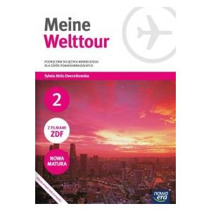 Meine Welttour 2. Szkoła Ponadgimnazjalna. Podręcznik + CD