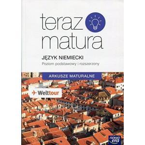 Teraz Matura 2019. Język Niemiecki. Arkusze Maturalne Zakres Podstawowy i Rozszerzony