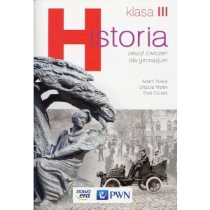 Historia 3. Wiek XIX i Wielka Wojna. Ćwiczenia. Gimnazjum