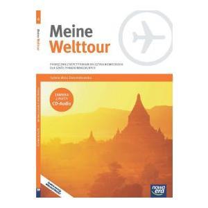 Meine Welttour 4. Szkoła ponadgimnazjalna. Podręcznik z Repetytorium + CD