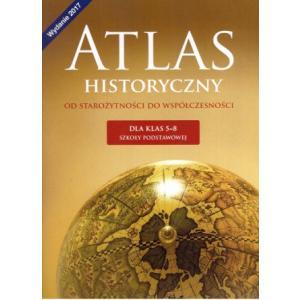 Wczoraj i dziś kl. 5-8 Atlas historyczny Od starożytności do współczesności