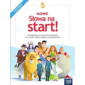 Nowe Słowa Na Start. Język Polski. Podręcznik. Klasa 5. Szkoła Podstawowa
