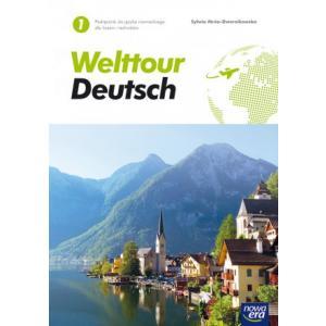 Welttour Deutsch 1. Podręcznik. Liceum i Technikum