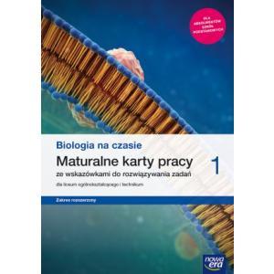 Biologia na Czasie 1. Maturalne Karty Pracy ze Wskazówkami do Rozwiązywania Zadań. Zakres Rozszerzony. Liceum i Technikum