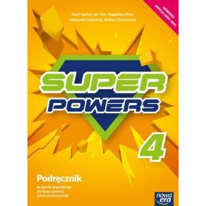 Super Powers. Język angielski. Szkoła podstawowa klasa 4. Podręcznik