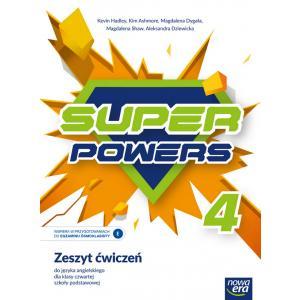 Super Powers. Język angielski. Szkoła podstawowa. Klasa 4. Zeszyt ćwiczeń