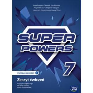 Super Powers 7. Szkoła podstawowa. Zeszyt ćwiczeń
