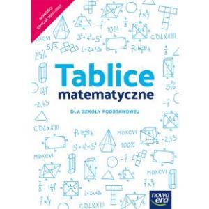 Tablice matematyczne. Szkoła podstawowa klasy 4-8
