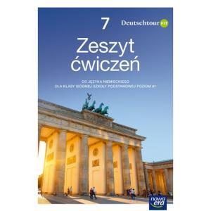 Deutschtour FIT. Szkoła podstawowa klasa 7. Zeszyt ćwiczeń + kod QR