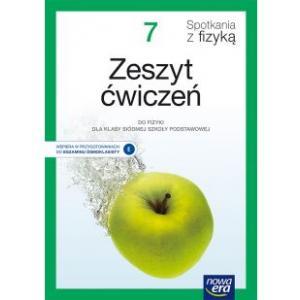 Spotkania z fizyką. Szkoła podstawowa klasa 7. Zeszyt ćwiczeń. Nowa edycja 2020-2022