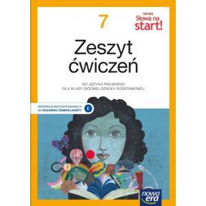 NOWE Słowa na start! Język polski. Szkoła podstawowa. Klasa 7. Zeszyt ćwiczeń