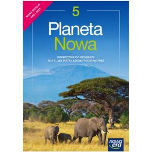 Planeta nowa. Szkoła podstawowa klasa 5. Podręcznik. Nowa edycja 2021-2023