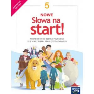 NOWE Słowa na start! Język polski. Szkoła podstawowa. Klasa 5. Podręcznik. Nowa edycja 2021-2023