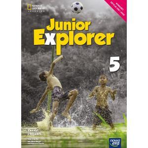 Junior Explorer. Szkoła podstawowa klasa 5. Zeszyt ćwiczeń. Nowa edycja 2021-2023