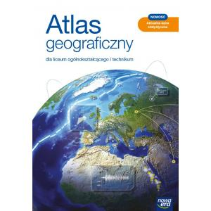 Atlas geograficzny. Liceum i technikum. Nowa edycja 2021