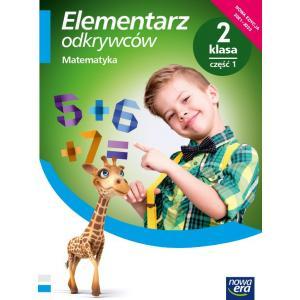 Elementarz odkrywców. Szkoła podstawowa klasa 2 cz. 1. Podręcznik. Matematyka. Nowa edycja 2021-2023
