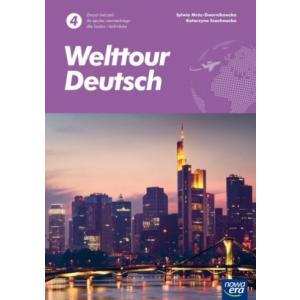Welttour Deutsch 4. Liceum i technikum. Zeszyt ćwiczeń