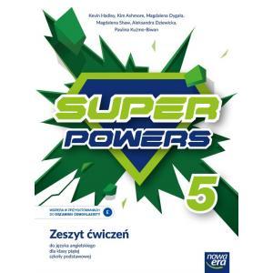 Super Powers. Język angielski. Szkoła podstawowa klasa 5. Zeszyt ćwiczeń