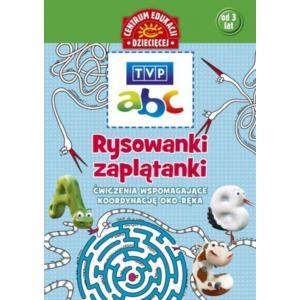 TVP ABC Rysowanki Zaplątanki Ćwiczenia Wspomagające Koordynację Oko-Ręka