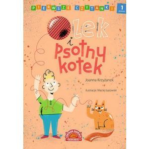 Pierwsze Czytanki Olek i Psotny Kotek