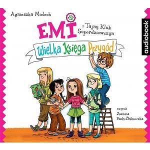 Emi i Tajny Klub Superdziewczyn Wielka Księga Przygód (Audiobook) (CD-MP3)