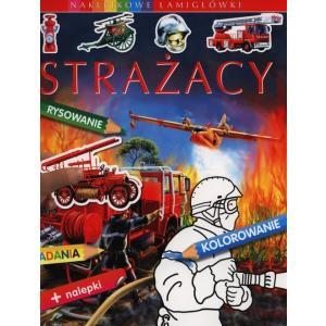 Naklejkowe Łamigłówki Strażacy