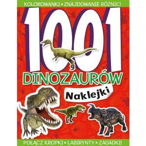 1001 dinozaurów. Naklejki