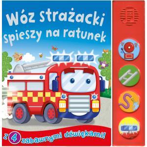 Wóz strażacki spieszy na ratunek