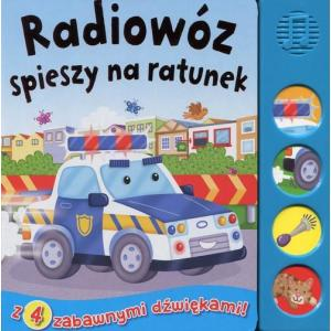 Radiowóz spieszy na ratunek
