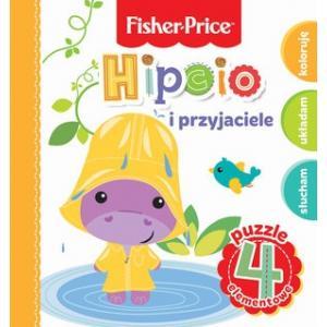 Fisher Price. Hipcio i przyjaciele. Puzzle 4 elementy