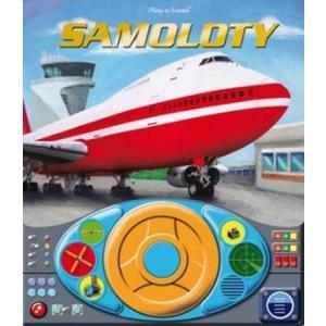 Samoloty+kierownica. Książka dźwiękowa