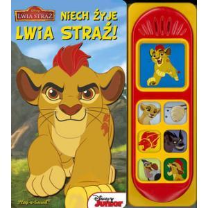 Disney Junior Lwia Straż. Niech żyje Lwia Straż! Książka dźwiękowa