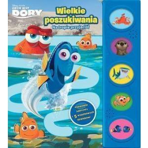 Gdzie jest Dory, Wielkie poszukiwania. Książka dźwiękowa