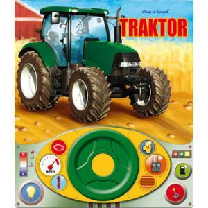 Traktor + kierownica. Książeczka dźwiękowa