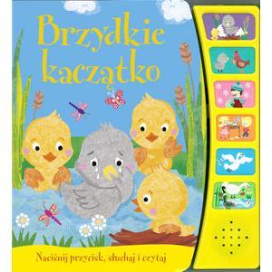 Baśniowe opowieści Brzydkie kaczątko Książeczka dźwiękowa