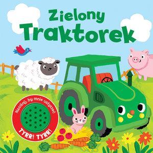 Zielony traktorek. Książeczka dźwiękowa